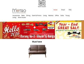 metrofurniture.co.id screenshot