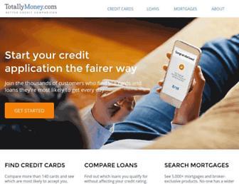 Thumbshot of Totallymoney.com