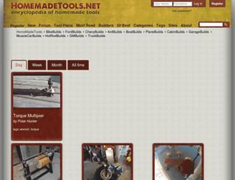 homemadetools.net screenshot