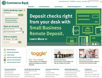 Thumbshot of Commercebank.com