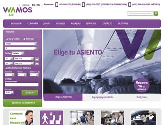 wamosair.com screenshot