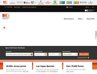 ihg.com screenshot