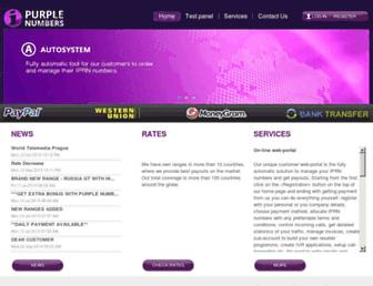 purple-numbers.com screenshot