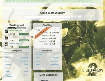 Thumbshot of Gw2spidy.com