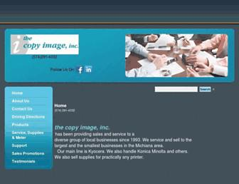 thecopyimage.com screenshot