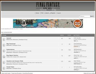fferpg.just-forum.net screenshot