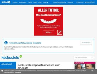 keskustelu.suomi24.fi screenshot