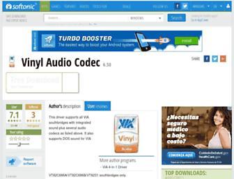 vinyl-audio-codec.en.softonic.com screenshot