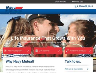 navymutual.org screenshot