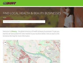 gleauty.com screenshot