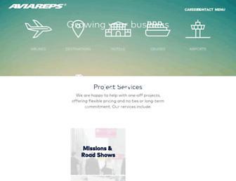 aviareps.com screenshot