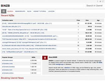 binzb.com screenshot