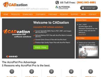cadzation.com screenshot
