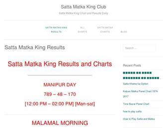 sattamatkaclub.com screenshot