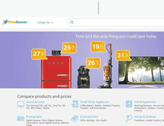 pricerunner.com screenshot