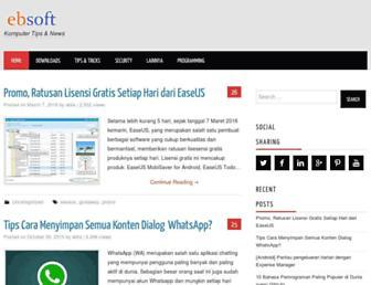 ebsoft.web.id screenshot