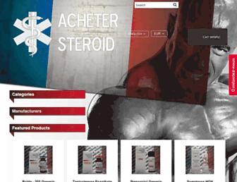 acheter-steroid.org screenshot