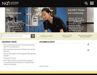 nku.edu screenshot