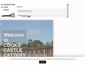 isleofwightcattery.co.uk screenshot