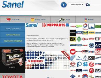 sanel.biz screenshot