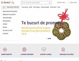 zodiacool.ro screenshot