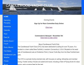cycsail.org screenshot