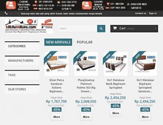 klikfurniture.com screenshot