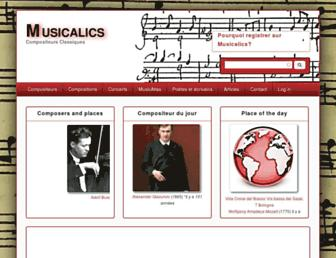 classical-composers.org screenshot