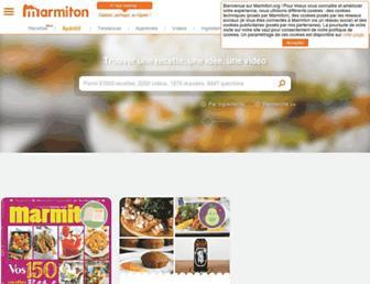 Thumbshot of Marmiton.org