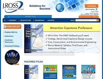 jrosspub.com screenshot