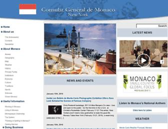 monaco-consulate.com screenshot