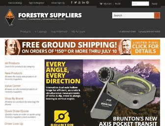 forestry-suppliers.com screenshot