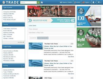 trade.nosis.com screenshot