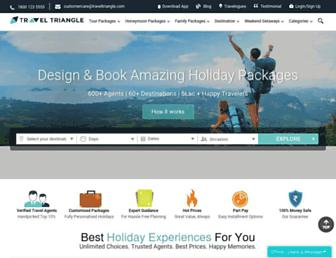 Thumbshot of Traveltriangle.com