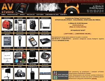 avstudio.pl screenshot