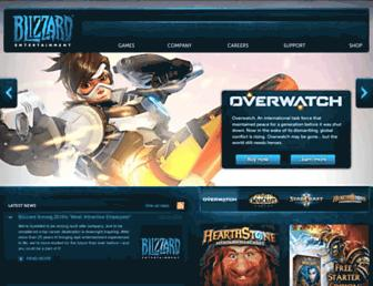 us.blizzard.com screenshot