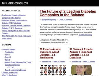 thediabetescouncil.com screenshot