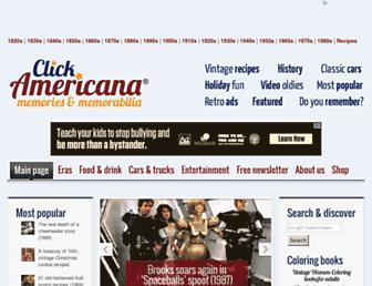 clickamericana.com screenshot