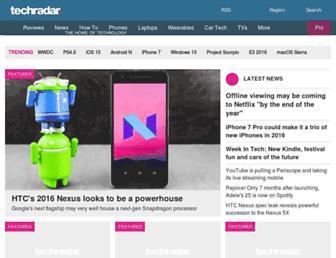 m.techradar.com screenshot
