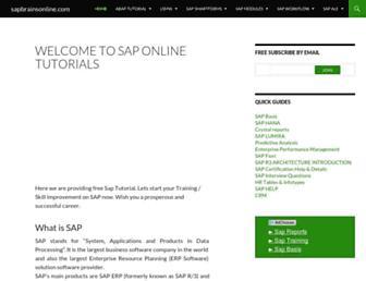 Thumbshot of Sapbrainsonline.com