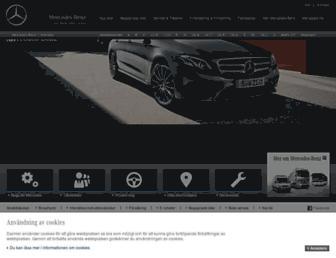 mercedes-benz.se screenshot