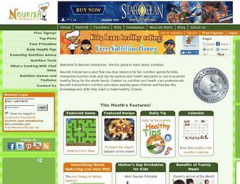 nourishinteractive.com screenshot