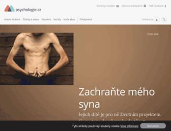Thumbshot of Psychologie.cz