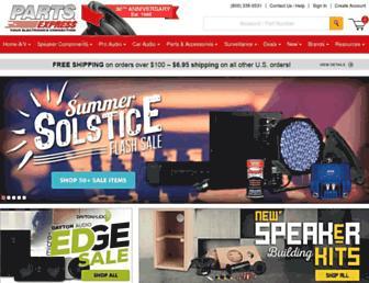 Thumbshot of Parts-express.com