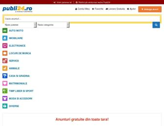 publi24.ro screenshot
