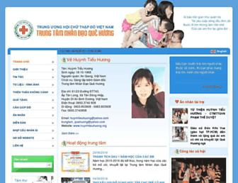 huynhtieuhuong.org screenshot