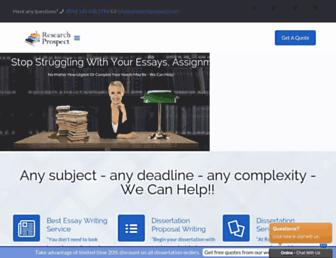 researchprospect.com screenshot