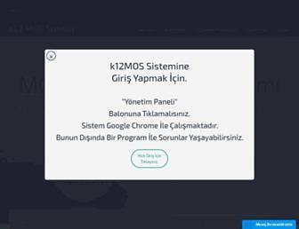 k12mos.com screenshot