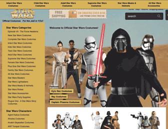 Thumbshot of Officialstarwarscostumes.com