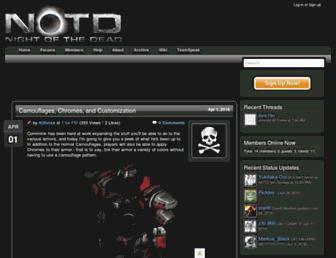 notdstarcraft.com screenshot